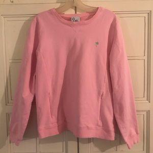 Lily Pulitzer Crew Neck ZIP Pocket Sweatshirt